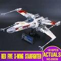 Лепин 05039 1586 шт. Подлинная Новая Звезда Война Серии X-wing Красный Пять Истребителей Набор Строительные Блоки Кирпичи игрушки 10240