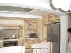 Классическая массивная деревянная фурнитура для кухонного шкафа (LH-SW030)