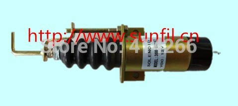WHOLESALE FUEL SHUTDOWN SOLENOID replace FOR 366-07197 ,12V,3PCS/LOT wholesale shutdown solenoid 2001 12e2u1 d513 a32v12 12v 3pcs lot