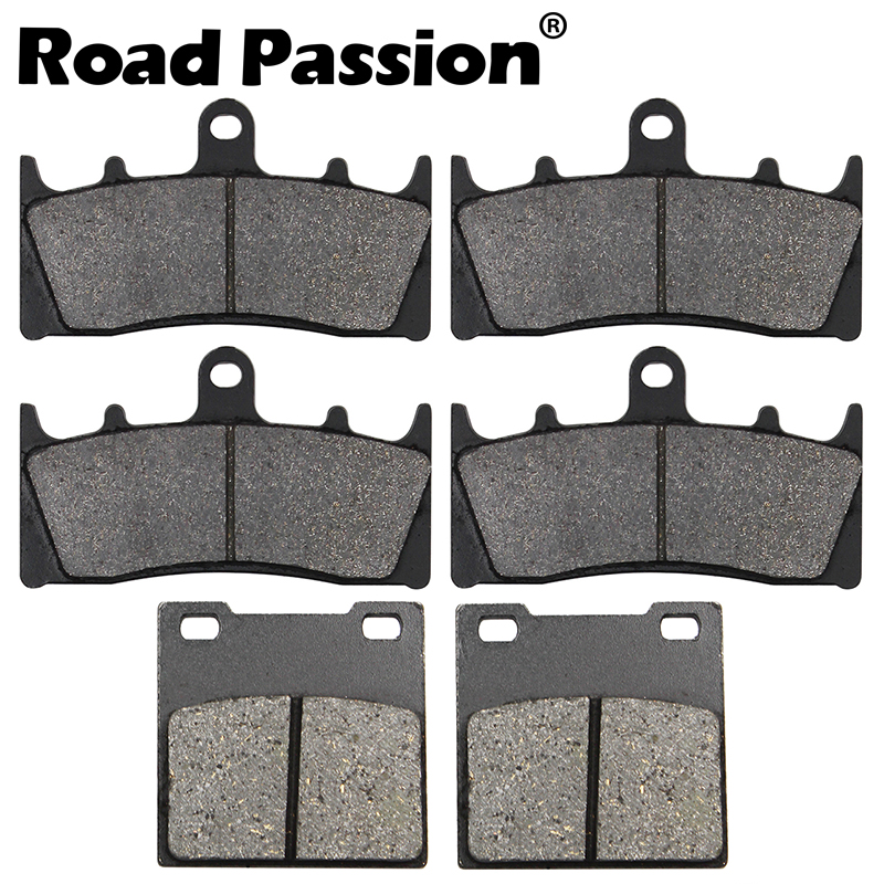Motorcycle Front & Rear Brake Pads For <font><b>SUZUKI</b></font> GSXR750 GSXR94-99 <font><b>TL1000R</b></font> 98-03 GSXR1100W 93-98 GSF1200 01-05 GSX1300R image