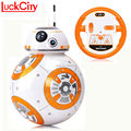 Consegna veloce BB-8 Palla 20.5 cm Star Wars RC BB 8 Droid Robot 2.4G Telecomando BB8 Intelligente Robot Action Figure Modello giocattoli