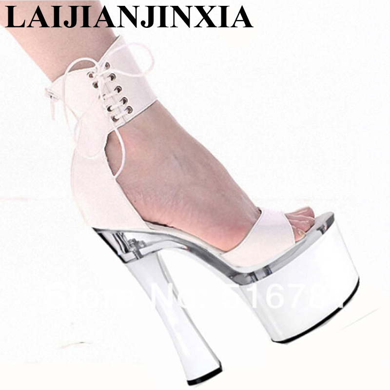 Professionnel F Laijianjinxia 7 Couverture À Sandales Talons f067 Personnaliser Bobine Cm Haute F053 Hauts 053 Confortable Talon 18 Pouce Chaussures dhxotrBsQC