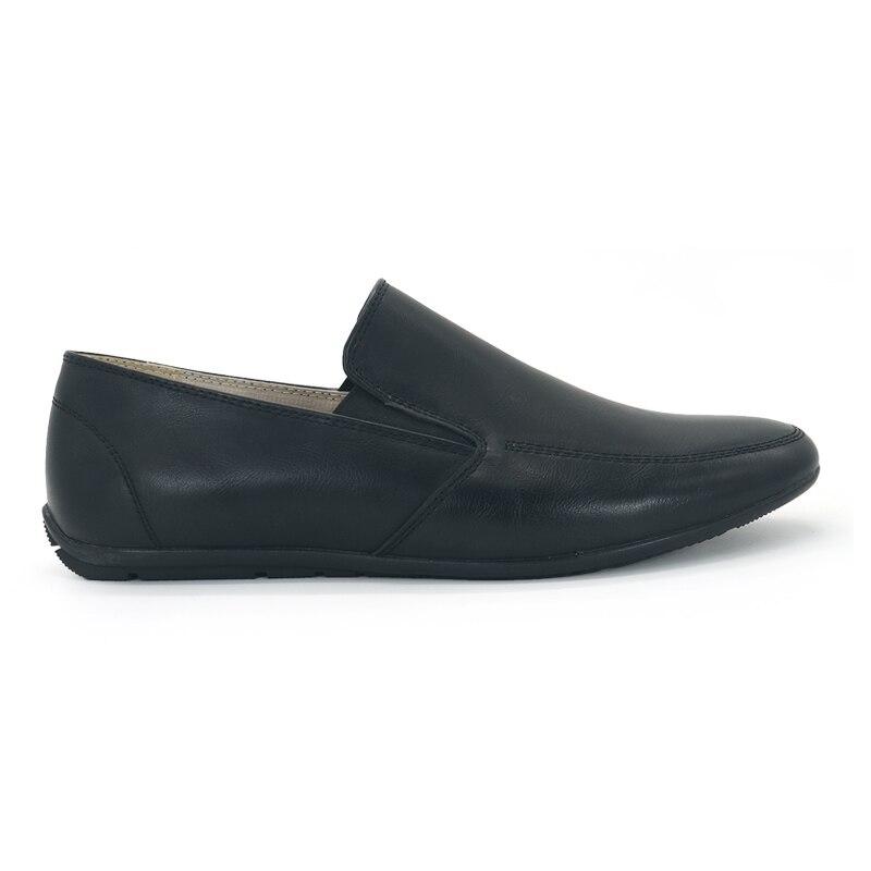 Jackmillerboys Kinderschoenen Jongens Schoenen Zwart Platte slip op - Kinderschoenen - Foto 2