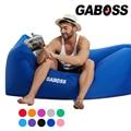 Portátil UN AGUJERO Al Aire Libre sacos de dormir Playa Sofá Inflable Rápido Hangout Camping Cama Cómoda Tumbona 0.8 kg 6 Colores