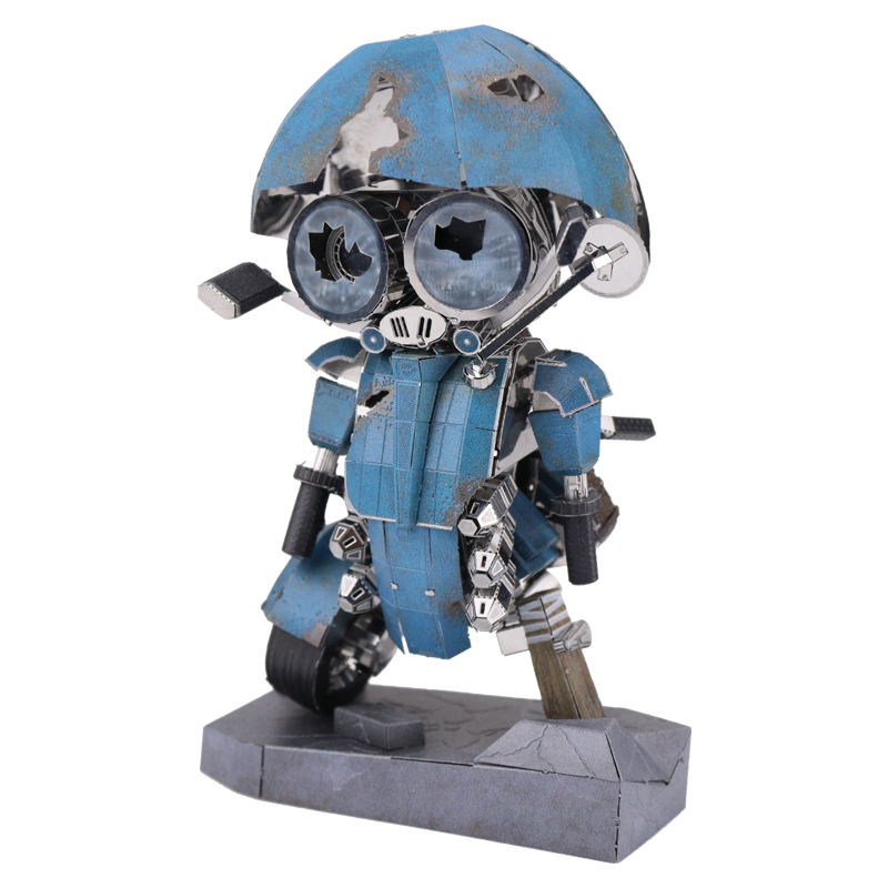 MMZ MODEL MU 3D Metal Puzzle Sqweeks The Last Knight YM-N015-BS Model DIY 3D Laser Cut Assemble Jigsaw Toys For Adult