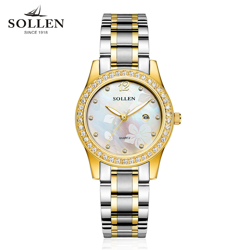 relogio feminino fashion women watch golden Top Brand  Stainless Steel diamond Watches relojes mujer hombre geneva wristwatch classic brand geneva relogio feminino casual quartz watch men women nylon strap dress watches women watch relojes hombre gift