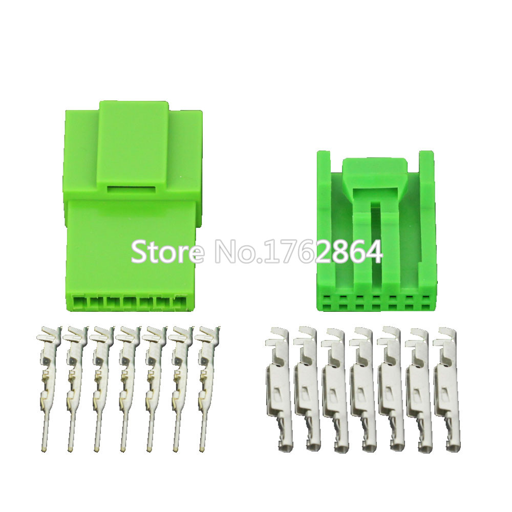 hight resolution of 7 pin series automotive instrument wiring harness plug green car connector with terminal dj7071a 1 2 11 21 7p in connectors from lights lighting on