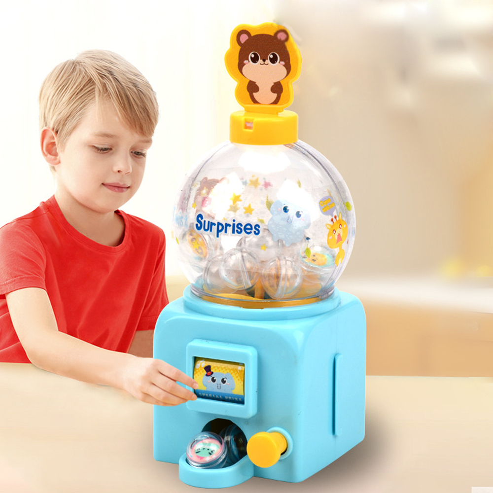 Mini Ball Gripper Machine Grabber Ball Catcher Crane Beverage Machine Kids Children Role Play Toys For Children Birthday Gift