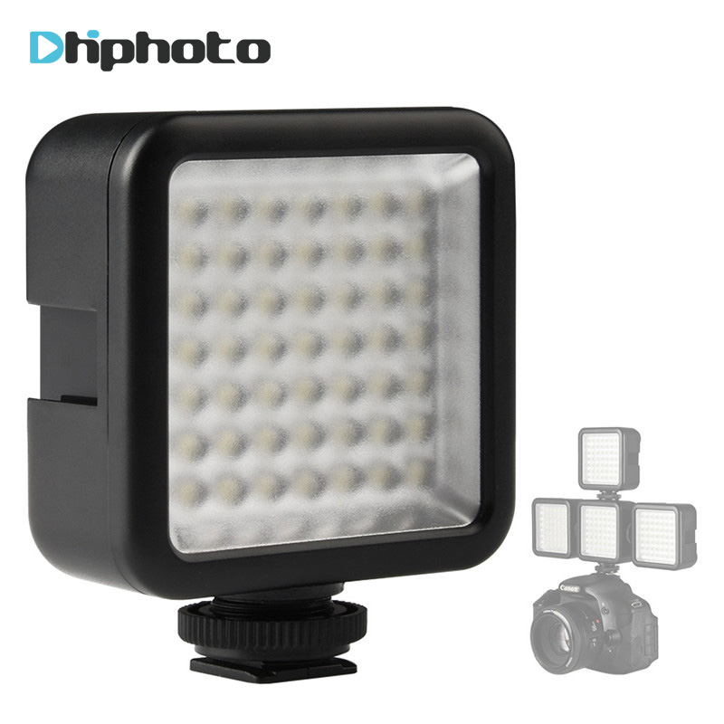 Ulanzi mini LED Video Light on Camera with Hot Shoe Night Photographic Fill Lighting for Nikon