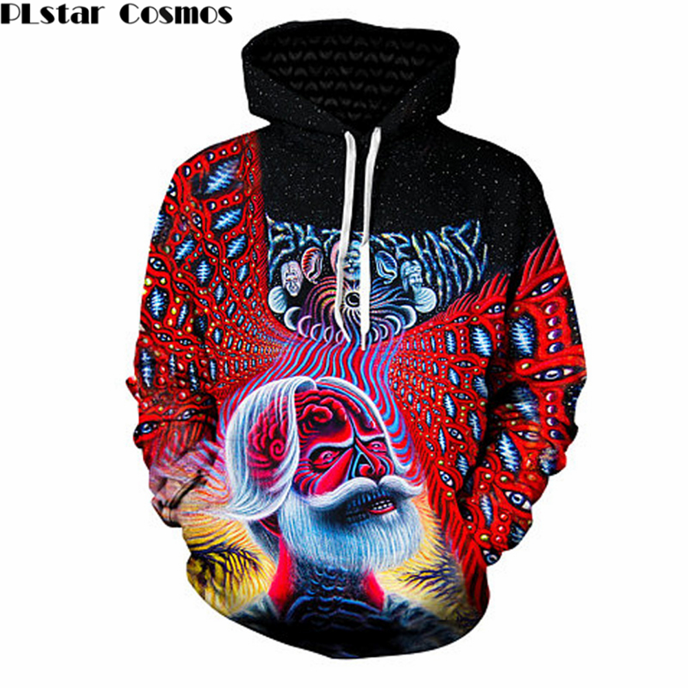 YX GIRL Bob Weir Hippie Hoddies 2018 New Fashion Long Sleeve Hoodie Sweatshirt dropship