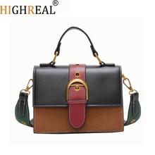 High Quality Women Bag Luxury Handbags Designer New Square Package Women Hit Color Shoulder Bag Messenger Satchel Tote Crossbody