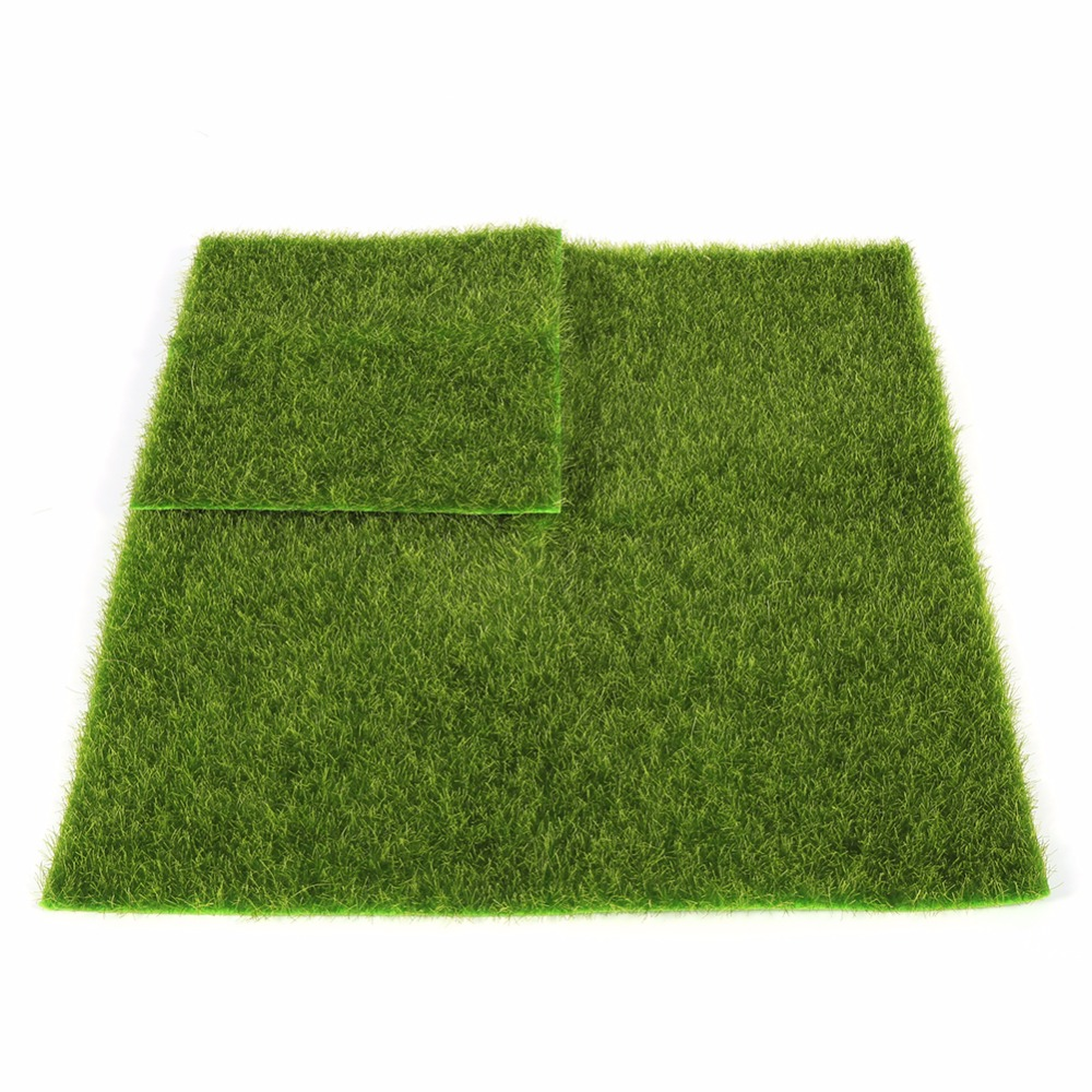 Micro landscape decoration diy mini fairy garden for Decorative lawn grass