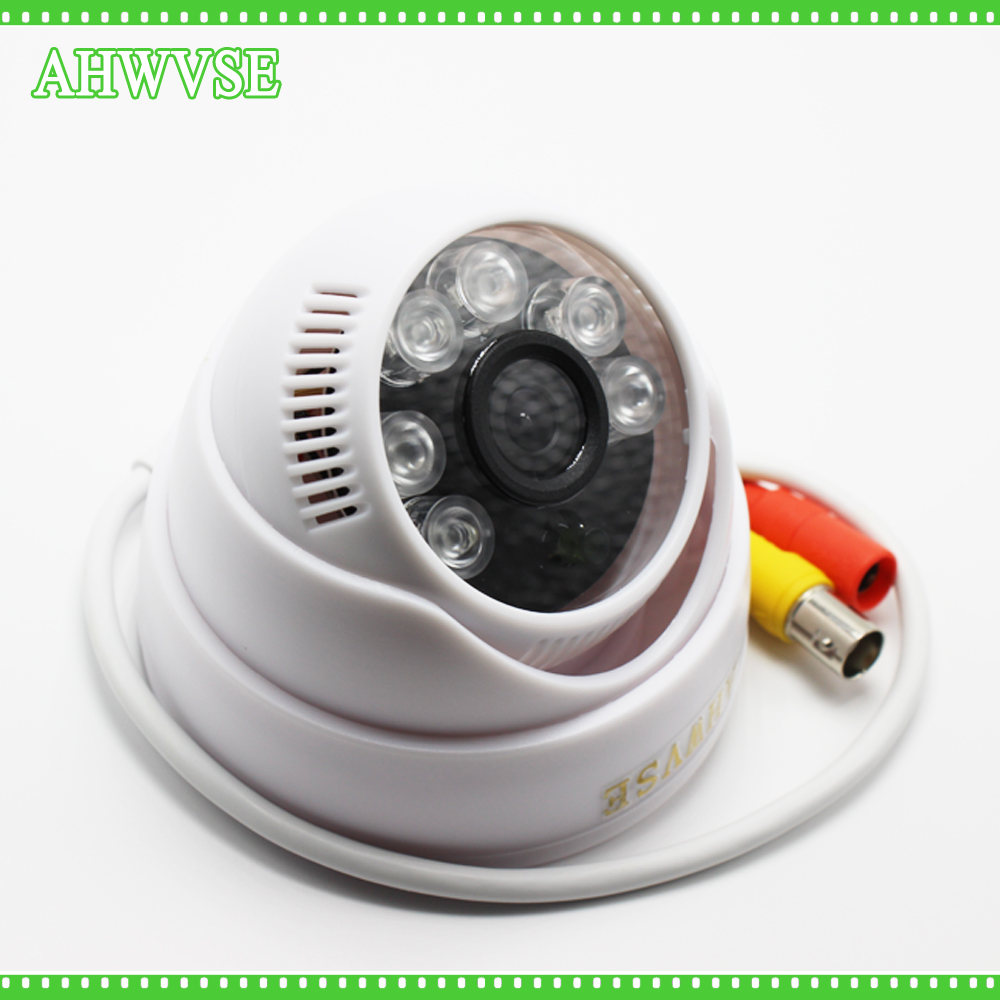 AHWVSE CCTV Camera CMOS 2000TVL IR Cut Filter 1MP 2MP AHD Camera 720P 1080P Indoor IR Dome Security Camera For AHD DVR