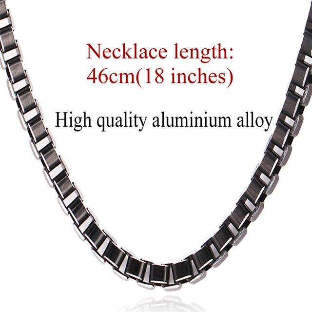 U7 Necklace Men Jewelry...