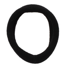 MYPF-5 Pcs Black Stretchy Band Hair Tie Ponytail Holders