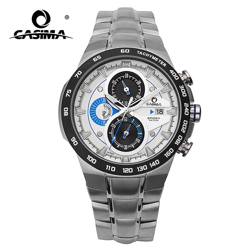 Buy casima fashion mens chronograph calendar watch top brand luxury wrist watch for Casima watches