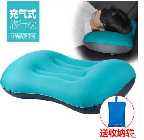 Portable Outdoor Inflatable Pillow Home Portable Travel Pillow Cusion Cervical Tourism Adult Cushion