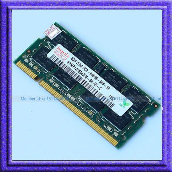 Hynix 2 ГБ PC2-6400S DDR2 200pin DDR2-800 800 МГц 2 ГБ Памяти Ноутбука 2 Г pc2 6400 800 МГЦ Ноутбук Модуль SODIMM RAM Бесплатный доставка