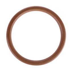 Сумки ручка с парой ручки круглые деревянные сумка 6 1/2 дюйма