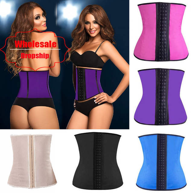 a7a1746701 placeholder NINGMI Rubber Body shaper for women sexy Shapewear Waist  Trainer Cincher latex Shaper Burning Slimming waist