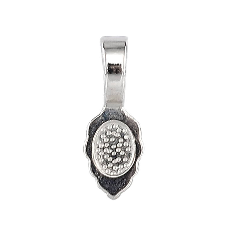 "5//8/""x 2//8/"" 50PCs Hot Spoon Shape Charm Pendants Silver Plated 16mm x 5.5mm"