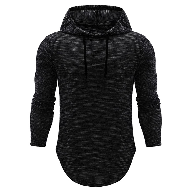 Hoodies Men 2018 Brand Hip-hop Male Long Sleeve Solid Color Hooded Sweatshirt Mens Hoodie Tracksuit Sweat Coat Casual Sportswear