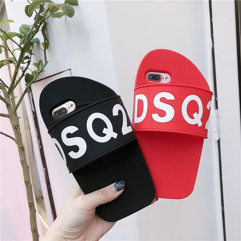 New Arrival Milan Shoes Dsquared DSQ2 Brand Soft Silica For iPhone X Case Cover For iphone 6 6S 6Plus /6SP 7 7Plus 8 8Plus Cases