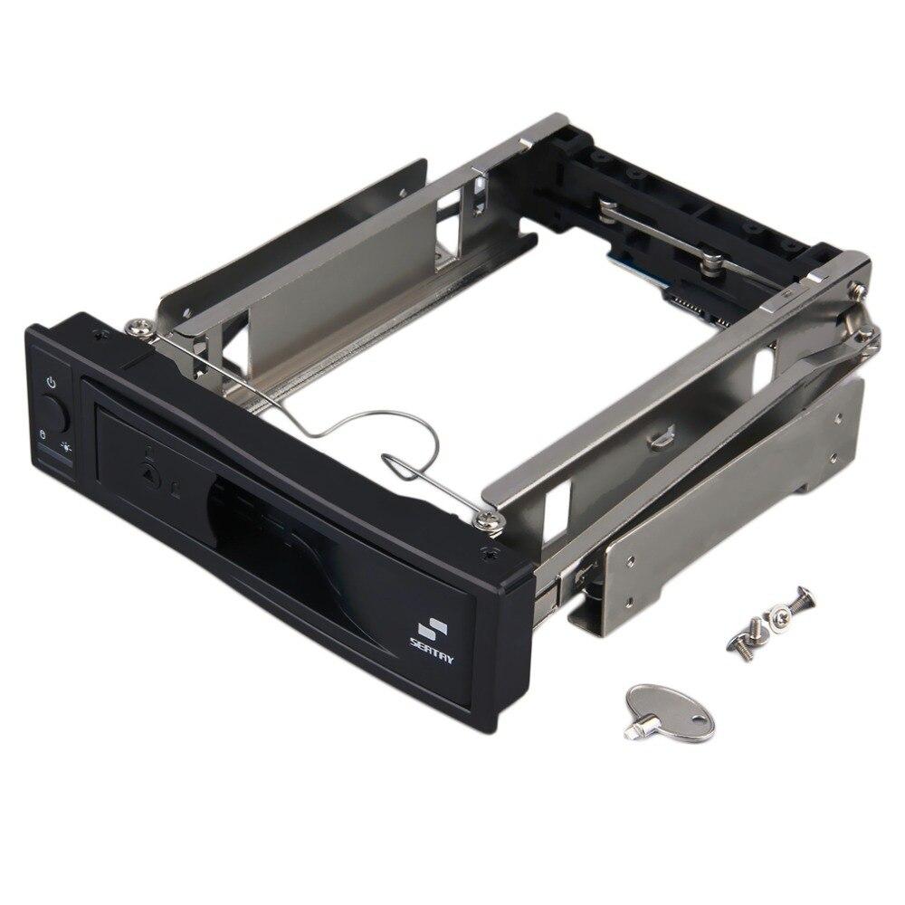 2017 new hot 3.5 inch HDD SATA Hot Swap Internal Enclosure Mobile Rack with Key Lock