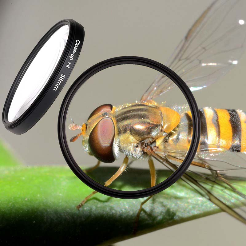 49mm 52mm 55mm 58mm 62mm 67mm 72mm 77mm Macro Close up 4 Close up Filter for