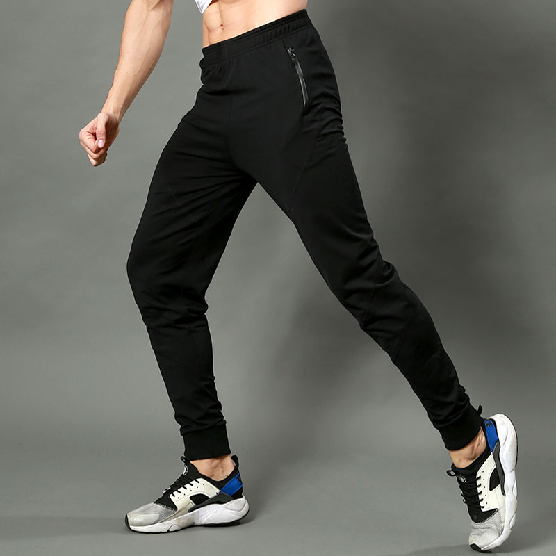 Men Sports Running Pants Pocket Athletic Football Soccer Training Sport Pants Elasticity Legging jogging Gym Trousers Large Size цена