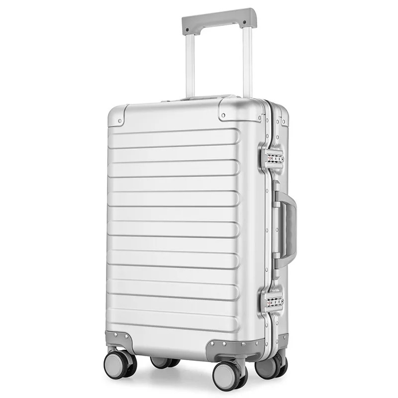 TRAVEL TALE 20 inch 100 aluminium travel suitcase spinner carry on luggage trolley on wheel