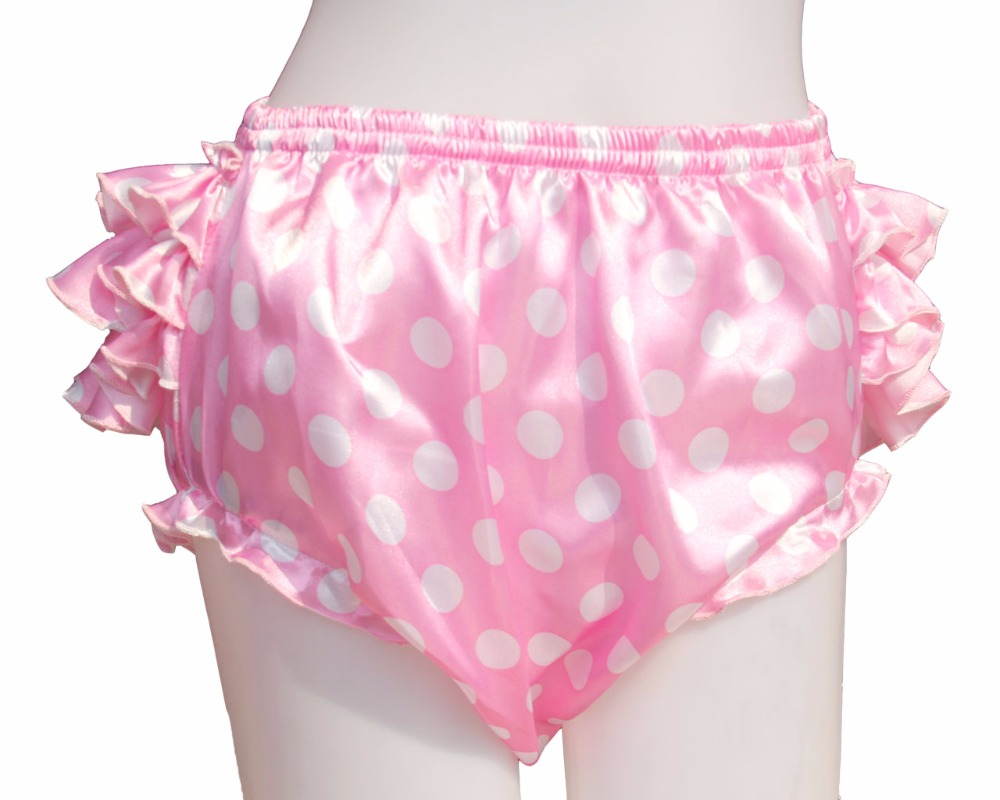 Adult Ruffle Panties Bloomers Incontinence Diaper Cover #FSP06-5,M / L /  XL/ XXL