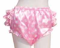 Adult Ruffle Panties Bloomers incontinence Diaper Cover #FSP06 5,M / L / XL/ XXL