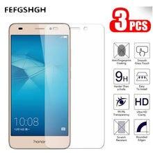 3 pçs/lote 2.5D Huawei Honra 7 Lite Vidro Protetor De Tela de Vidro Temperado Em Honra 7 Lite Nem-L21 NEM-L51 Película Protetora vidro