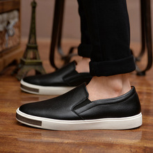 Men Sneakers Genuine Leather Mens Fashion Shoes Luxury Casual Male Designer Slip on Driving