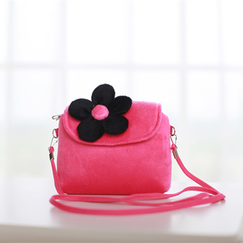 Kids Messenger Bag Cute Princess Baby Girls Sweet Lovely Clutch Purses Handbags Flower Crossbody Bags Children Shoulder Bag girls mini messenger bag cute plush cartoon kids baby small coin purses lovely baby children handbags kids shoulder bags bolsa