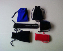 drawstring velvet jewelry bags for gifts bracelet bangle necklace watch Accessories mobile phone pouch bags customize