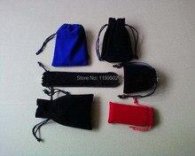 Cordão de veludo para presentes  pulseira jóias e acessórios do telefone pulseira  colar  relógio  bolsa  sacos personalizar