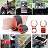 360 Revolving Multifunction Universal Car Mount Phone Holder For Bicycle Steering Wheel Lazy Bracket Stand For