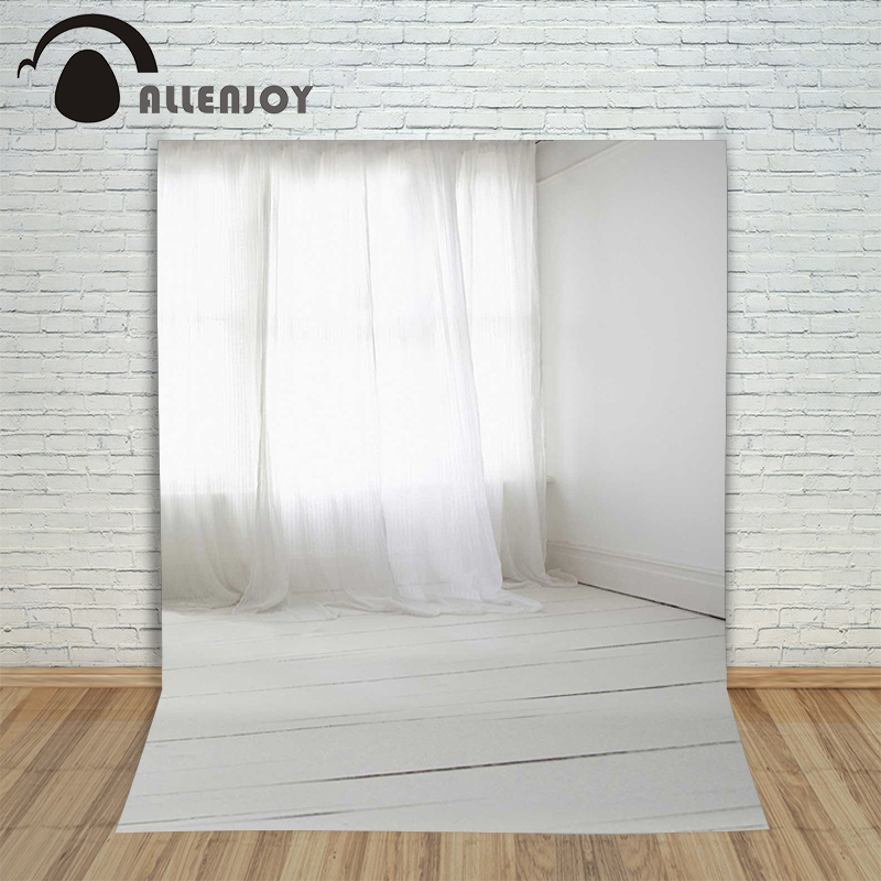 Allenjoy photographic background Room curtains white backdrops children princess scenic photocall 10ft*20ft