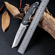 High Quality Cold Stainless Steel Tactical Knife Outdoor D2 Navajas Zakmes Cuchillos Survival Knife Fixed Blade Hunting Knife