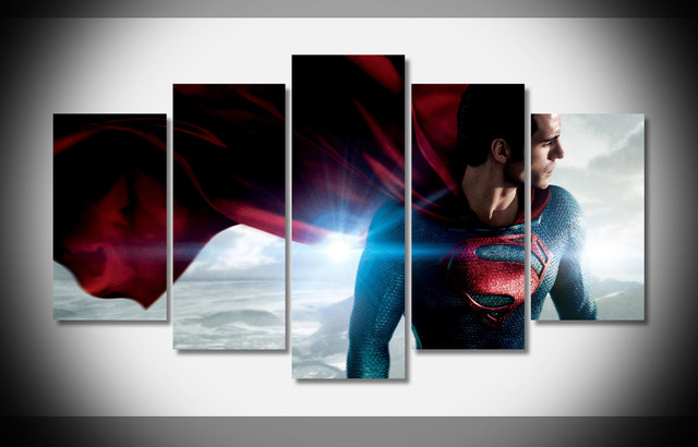 superman-bookshelf-decor-ideas