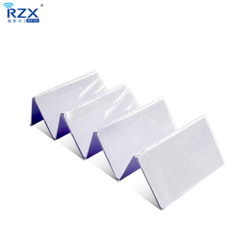 ISO14443A high quality 200PCS contactless white PVC blank card rfid card MIFARE Classic 4K card 1 design laser cut white elegant pattern west cowboy style vintage wedding invitations card kit blank paper printing invitation