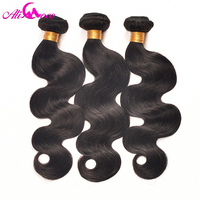 Ali Coco Hair Peruvian Body Wave Human Hair Bundles Natural Color 10 28 Inch