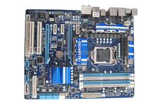 original motherboard for Gigabyte GA-P55A-UD4 boards P55A-UD4 1156 DDR3 16G for i5 i7 cpu P55 Desktop motherborad Free shipping