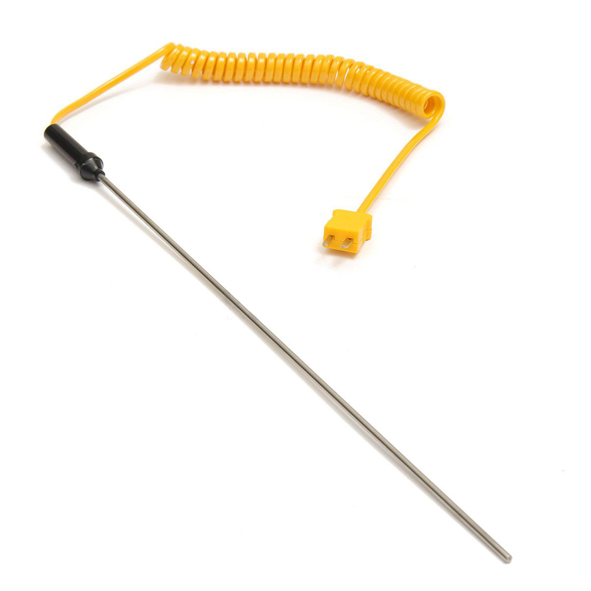 -50 Celsius - 1200 Celsius K-type thermocouple probe thermometer Digit New Probe Length:300MM
