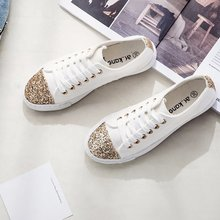 Free shipping 2019 new spring canvas shoes female students H