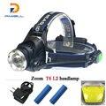 Free shipping 3000 lumens CREE headlamp T6 led miner's lamp linternas frontales cabeza  head lamp headlight