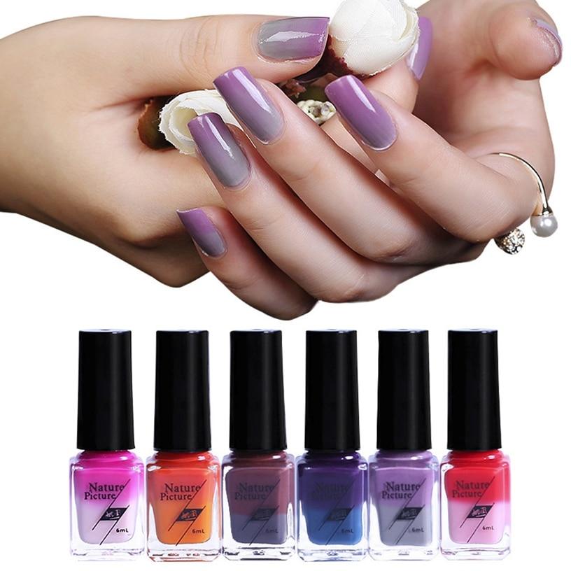 Best Deal 6ml Nail Polish Temperature Change Nail Polish Color ...