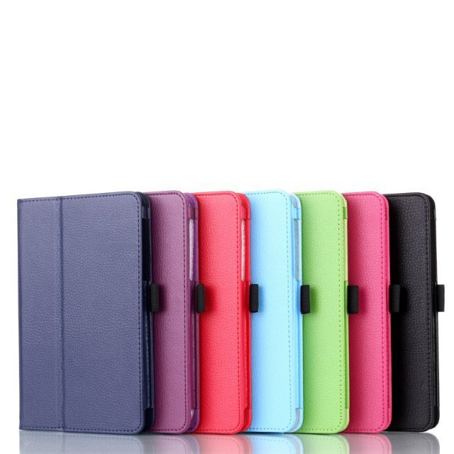 Tablet PU Leather Case cover voor lenovo A5500 Tab ideatab A8 7-Color - Tablet accessoires - Foto 3